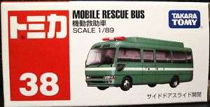 TOMY TOMICA No.38 MOBILE RESCUE BUS 2011 189