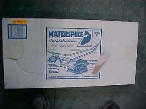 NIB Waterspike Water spike boat anchor fishing fish