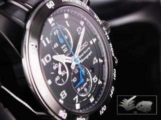 Seiko Watch Sportura Alarm Chronograph   SNAE77P1 7T62