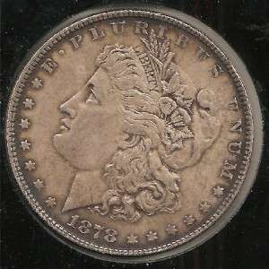 1878 EXTREMELY FINE Morgan Silver Dollar #2