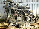 DETROIT SERIES 60 DIESEL ENGINE (HAS HOLE IN FIBERGLASS PAN) #6787