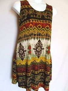 Travel Knit Dress #205, BRAND NEW, A Line Tank, Short