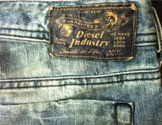 Diesel Jeans Mens Zathan 8Y7 Bootcut New With Tag