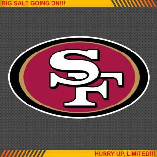 San Francisco 49ers NFL Football Logo Car Bumper Window Wall Sticker