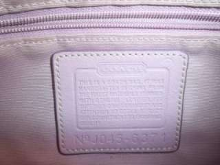 COACH Pink Signature C Cloth & Leather Small Bag
