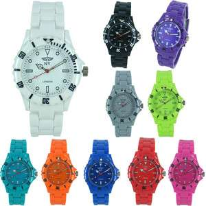 NY London Lovely Plastic Fashion Watch for Mens Ladies Boys & Girls