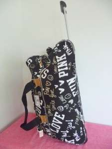 NWT Victoria Secret PINK Travel Wheelie Luggage Bag