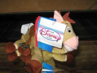 NEW Disney Store Pixar BULLSEYE Bean Plush Horse TOY STORY 2 Nwt