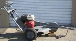 Dosko Walk Behind Stump Grinder Cutter 13hp Honda Towable