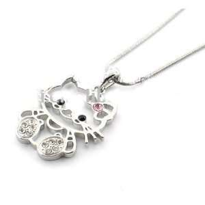 Fashion Jewelry ~ Hello Kitty Necklace (Style D7935