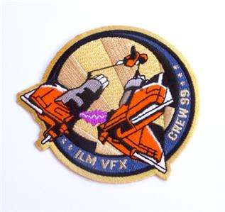 Star Wars Episode 1 Podracer ILM Crew VFX Patch 1999