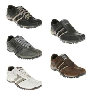 Mens Skechers Leather Shoes   5 Styles