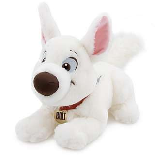 DISNEY BOLT SOFT TOY DOG PLUSH BNWT NEW