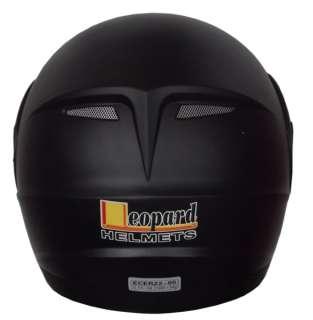 Leopard LEO 717 Flip UP Front Helmet +free extra dark visor Motorcycle