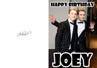 PERSONALISED JEDWARD BIRTHDAY CARD