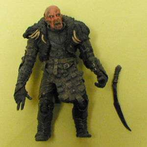 Tolkien Lord o/t Rings 6 ORC GRISNAK figure RARE