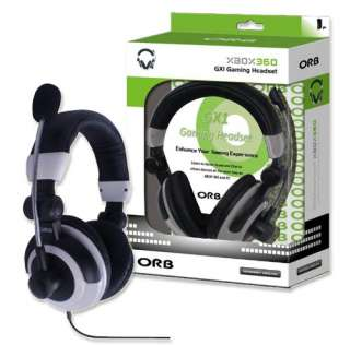 ORB GX1 ONLINE GAMING HEADSET FOR MICROSOFT XBOX 360