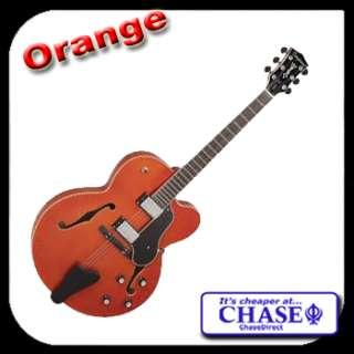 Tanglewood Electric Guitar TSB 49 Jazz Semi Acoustic 335 Type Black