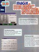 Magix Music Studio V3.0 Midi Sequencer   Mixer New