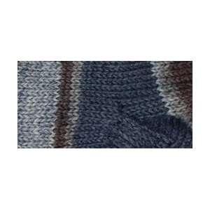 Patons Kroy Socks Yarn, Blue Brown Arts, Crafts & Sewing