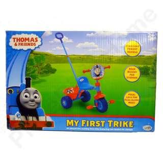 THOMAS & FRIENDS TRIKE BIKE w/ PARENT HANDLE NEW TANK ENGINE 3 WHEELER