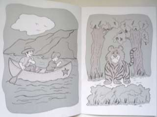 A5 Red Magic Painting Colouring Book (Just Add Water) Free Postage to