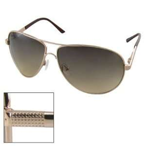 Como Metal Frame Spring Hinged Aviator Sunglasses for Men