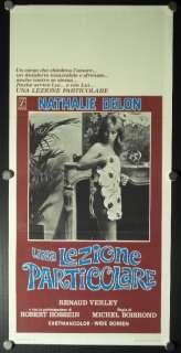 Locandina italiana originale / Italian original insert/playbill