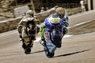 ICD1774 Moto GP legend VALENTINO ROSSI stunning canvas artwork