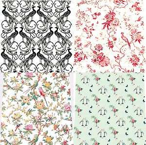 Doll House Wallpaper Birds choice of 14 designs Quality Matte Paper