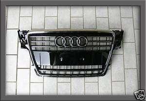 Audi A4 S4 8K B8 S Line Kühlergrill Grill SCHWARZ *