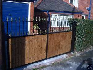 WROUGHT IRON GATES **Any Design £275**