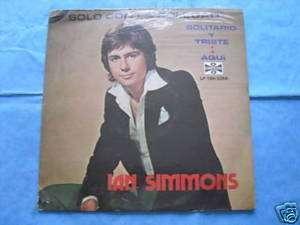Ian Simmons Solo con la Soledad MEX LP SEALED NEW