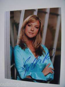 EVA LARUE CSI: MIAMI Signed Autographed 8x10 + PROOF