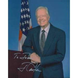 Terrell Owens Signed Photo   JIMMY CARTER HANDSIGNED 8x10