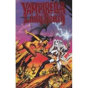 VAMPIRELLA LADY DEATH (1999 HARRIS) 1 Limited Edition Red