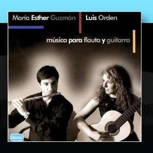 Musica Para Flauta y Guitarra Maria Esther Guzman/Luis Orden Music