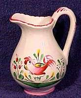 ST.CLEMENT MAJOLICA FAIENCE CREAMER MILK PITCHER FRANCE