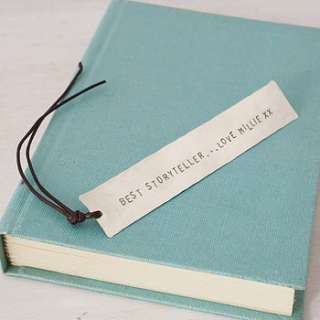personalised bookmark by honeybourne jewellery  notonthehighstreet