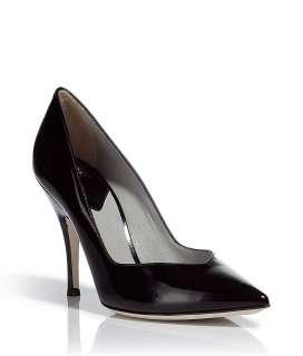 Dolce & Gabbana Black Leather Pumps  Damen  Schuhe  STYLEBOP