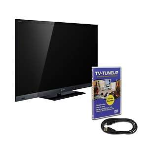Sony Bravia 55 Edge LED 1080p Backlit 3D HDTV with HDMI Cable and TV