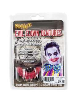 by Theme / Clown / Evil Clown Teeth