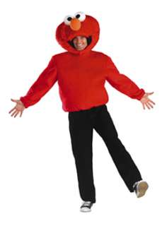 Adult Sesame Street Elmo Costume  Cheap TV Halloween Costume for Mens