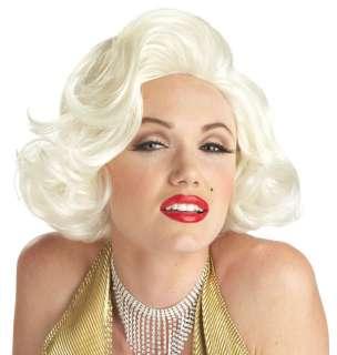 Marilyn Monroe Classic Platinum Blonde Wig   Costume Wigs