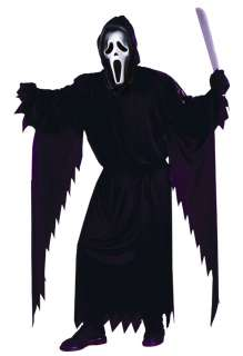Ghost Face Adult Costume   Halloween Costumes