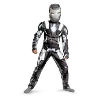 Iron Man 2 (2010) Movie   War Machine Classic Muscle Child Costume