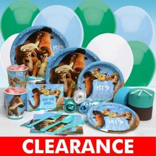 Results In Halloween Costumes Ice Age 2 The Meltdown Deluxe Party Kit