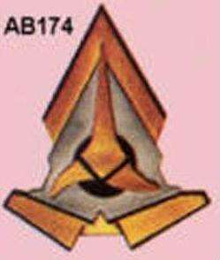 Star Trek Klingon Comm Badge   TV & Movie Costumes