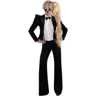 Lady Gaga Tuxedo Adult Costume 801973