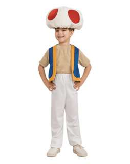 Super Mario Bros Toad Costume for Boys  Wholesale TV and Movie